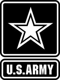 U.S. Army Decal / Sticker 12