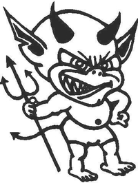 Little Devil Decal / Sticker 01