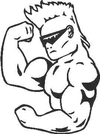 Body Builder Decal / Sticker