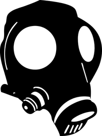 Breaking Bad Gas Mask Decal / Sticker 24