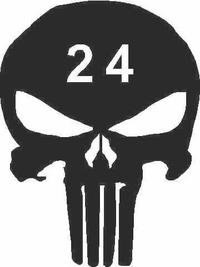 Punisher Decal / Sticker 24