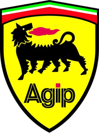 Agip Ferrari Crest Decal / Sticker 11