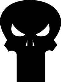 Punisher Decal / Sticker 28