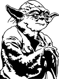 Yoda Decal / Sticker 04