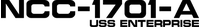 Star Trek NCC-1701-A Decal / Sticker 02