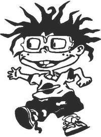 Chuckie Decal / Sticker 03