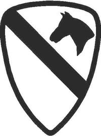 First Cavalry Division Decal / Sticker