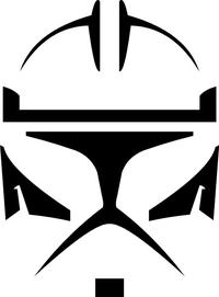 Clone Trooper Decal / Sticker 03