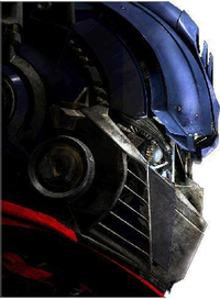 Optimus Prime Decal / Sticker 03