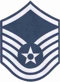 Air Force Master Seargent 02 Decal / Sticker