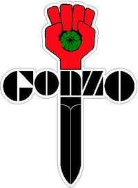 Gonzo Decal / Sticker 02