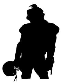Football Gamecocks Mascot Decal / Sticker 1