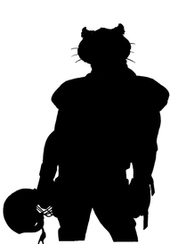 Football Cougars / Panthers Mascot Decal / Sticker 1