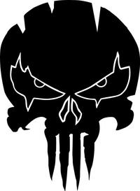 Punisher Decal / Sticker 136