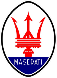 Maserati Decal / Sticker 14