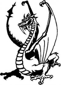 CUSTOM DRAGON and DINOSAUR DECALS and DRAGON DECALS and STICKERS, DINOSAUR DECALS and STICKERS