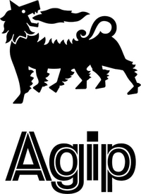 Agip Decal / Sticker 10