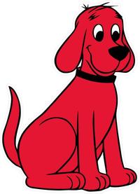 Clifford Big Red Dog Decal / Sticker 07