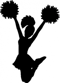 CUSTOM CHEERLEADING DECALS and CHEERLEADING STICKERS
