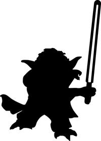 Yoda Decal / Sticker 06