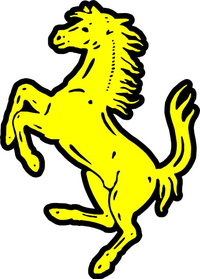 Ferrari Horse Decal / Sticker 38