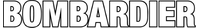 Bombardier Lettering Decal / Sticker 13