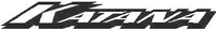 Suzuki Katana Decal / Sticker 01