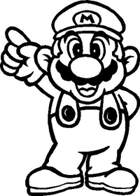 Mario Decal / Sticker 03