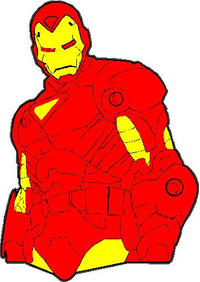 Iron Man Decal / Sticker 17