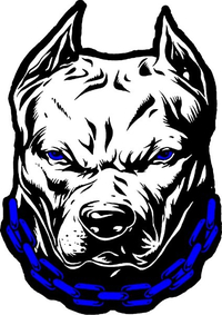 Pitbull Decal / Sticker 13