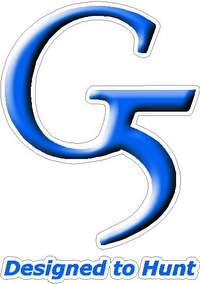 G5 Designed to Hunt Decal / Sticker