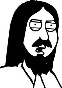 Family Guy Jesus Christ Decal / Sticker 01