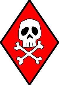 Captain Harlock Skull and Cross Bones Decal / Sticker 02