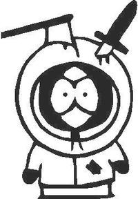 Dead Kenny Decal / Sticker