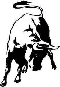 BUY CUSTOM BULL DECALS and BULL STICKERS