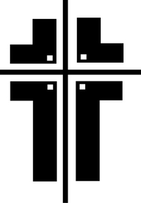 Christian Cross Decal / Sticker 33