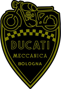 Ducati Shield Decal / Sticker 45