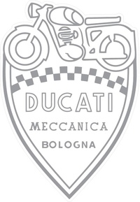 Ducati Shield Decal / Sticker 47