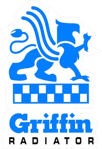 CUSTOM GRIFFIN RADIATORS DECALS and STICKERS