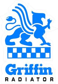 Griffin Radiator Decal / Sticker 01