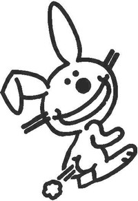Bunny Fart Decal / Sticker
