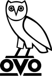 OVO Owl Decal / Sticker 02