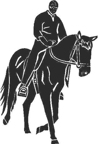 Horse Decal / Sticker 12