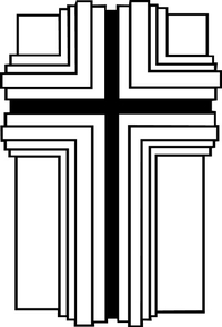 Christian Cross Decal / Sticker 34