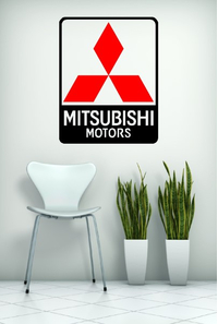 MITSUBISHI WALL DECALS and MITSUBISH WALL STICKERS