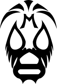 Mil Mascaras Decal / Sticker 01