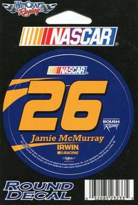 26 Jamie McMurray Decal / Sticker