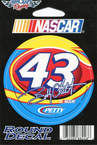 43 Bobby Labonte Decal / Sticker