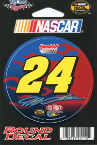 24 Jeff Gordon Decal / Sticker