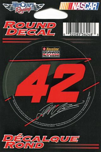42 Juan Pablo Montoya Decal / Sticker